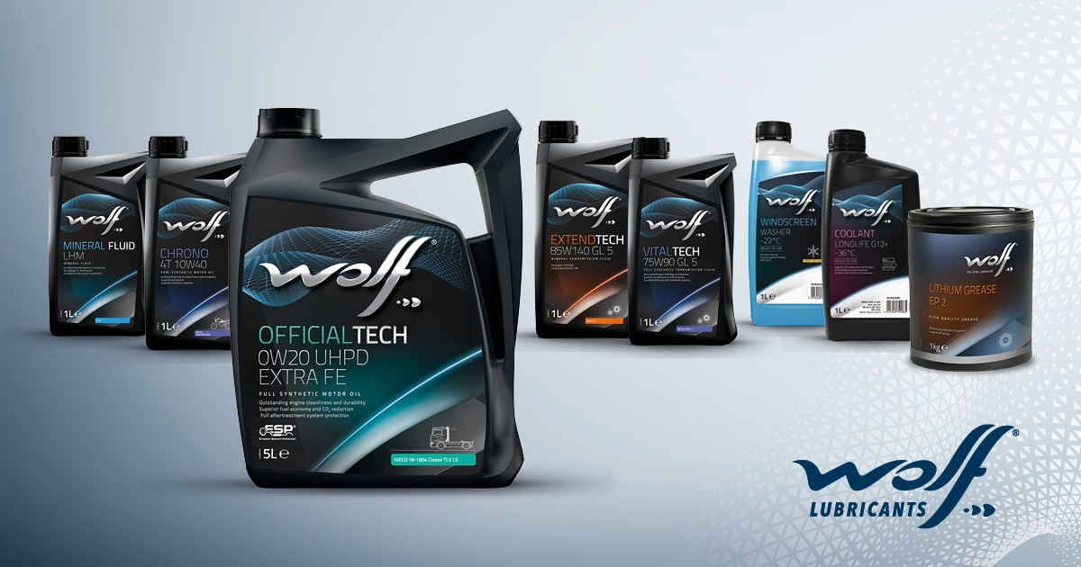 Motorové oleje Wolf Lubricants