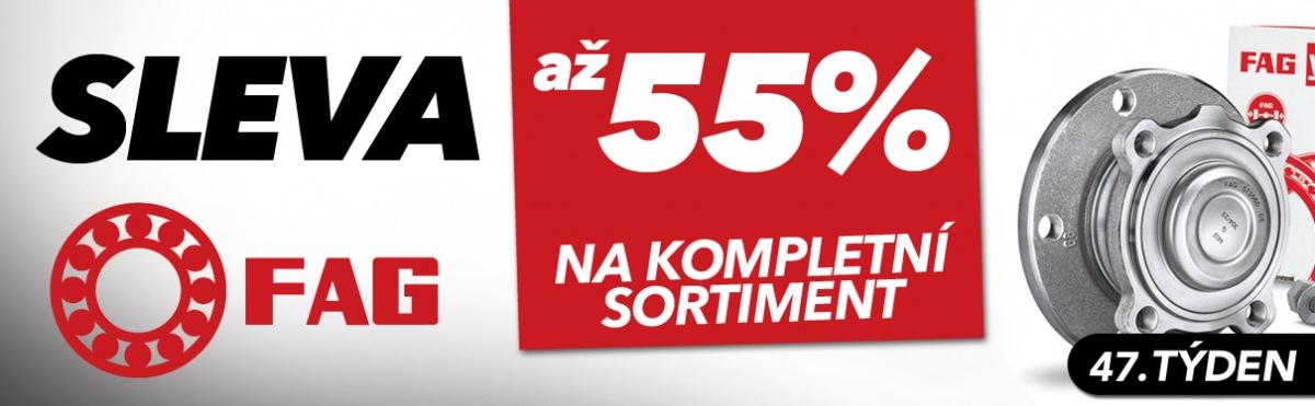 J+M autodíly: Až 55% slevy na produkty FAG
