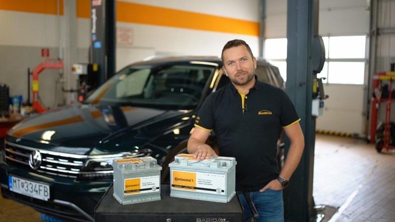 Batérie Continental po novom v servisnej sieti BestDrive