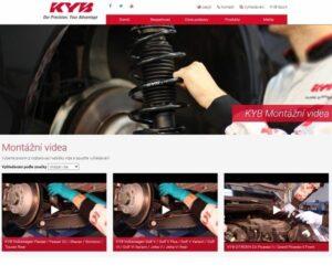 KYB nadále rozvíjí podporu zákazníků