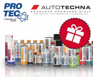 AUTOTECHNA: Nakúp skvelé produkty PRO-TEC a získaj poukážky na darčeky