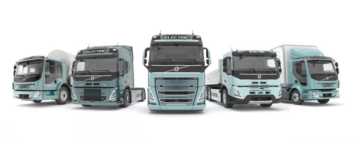Elektrická nákladní vozidla Volvo Trucks
