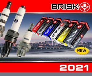 Kalendář firmy Brisk pro rok 2021