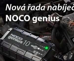 Nová řada nabíječek akumulátorů NOCO genius u Elán car