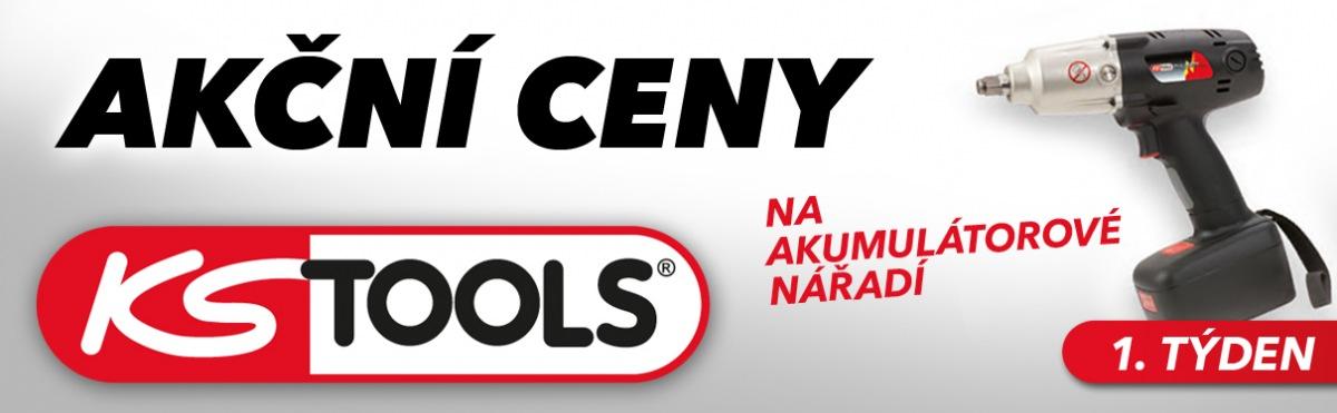 J+M autodíly: Akční ceny na akumulátotové nářadí KS Tools