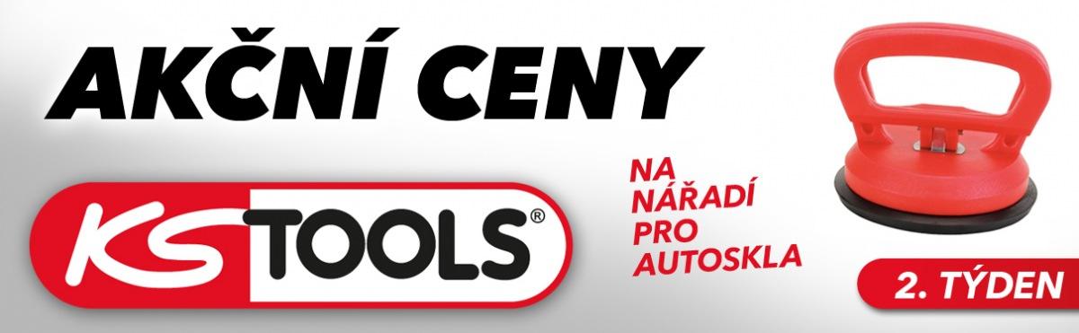 J+M autodíly: Akční ceny na nářadí pro skla KS Tools