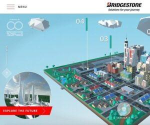 Bridgestone představuje na veletrhu CES 2021 virtuální město budoucnosti