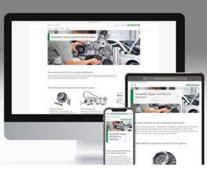 Nové webové stránky společnosti Schaeffler