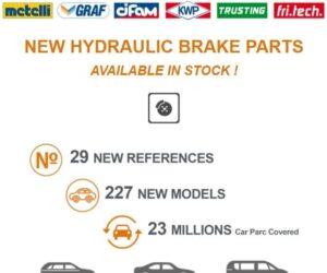 Hydraulické brzdové díly v nabídce Metelli Group