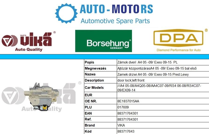 Novinky v ponuke AUTO-MOTO RS