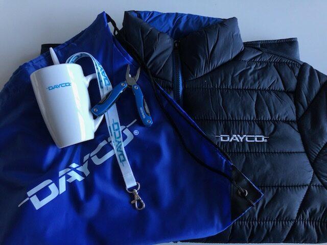Dayco výherní balíček