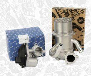 K MOTORSHOP: Nové sady chladičů recirkulace spalin s AGR ventilem/klapkou pro 1,6/2,0 TDI Škoda, VW