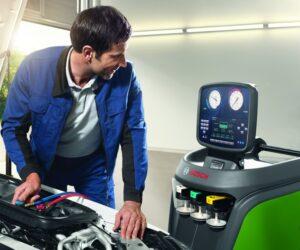 Nové zariadenia pre servis klimatizácií ACS 563 a ACS 553 od spoločnosti Bosch