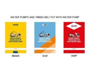Nové katalogy vodních čerpadel
