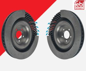 Směrově ventilované brzdové kotouče – jak to funguje?