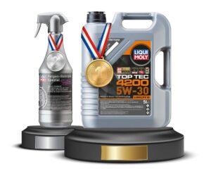 Liqui Moly byla desetkrát zvolena nejoblíbenější značkou olejů