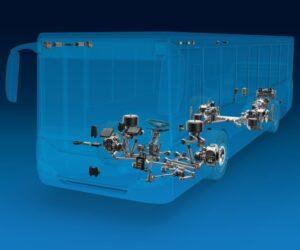 ZF představuje software pro řízení energie u elektrických užitkových vozidel