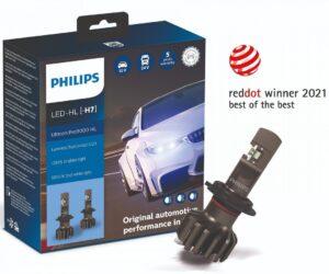 Logo Red Dot znovu na balení LED retrofitů Philips
