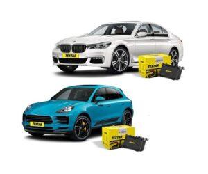 Textar brzdové destičky nově pro BMW 7 a Porsche Macan