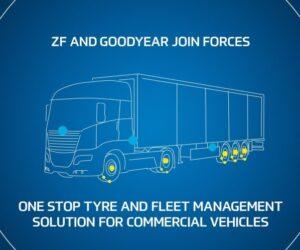 Spoločnosť ZF spája sily so spoločnosťou Goodyear, aby ponúkla vylepšené riešenia pre úžitkové vozidlá v celej Európe