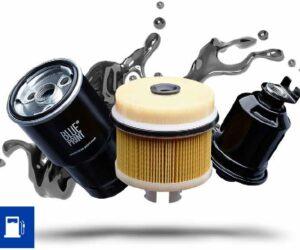 Palivové filtre Blue Print: Ochrana presných konštrukčných dielov