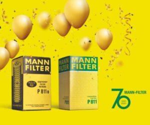 Značka MANN-FILTER – 70 let na trhu