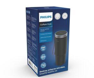 Nová automobilová čistička vzduchu Philips GoPure s technologií UV-C