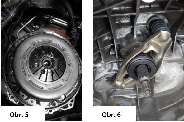 Výmena spojky na Audi A4 6