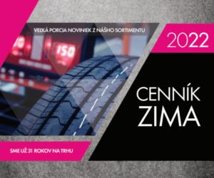 FERDUS: Cenník ZIMA 2022