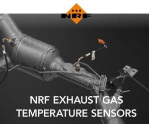 Snímače teploty výfukových plynů v nabídce společnosti NRF